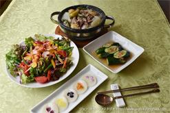 カラフル野菜のサラダピビㇺミョン
