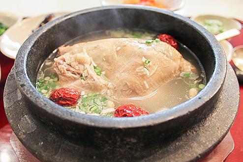 蔘鶏湯とパッピンスを食べる会