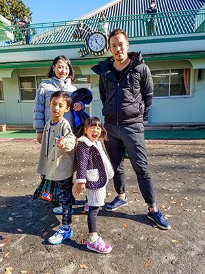 パパとオンマ&赤ちゃんで5人家族♪
