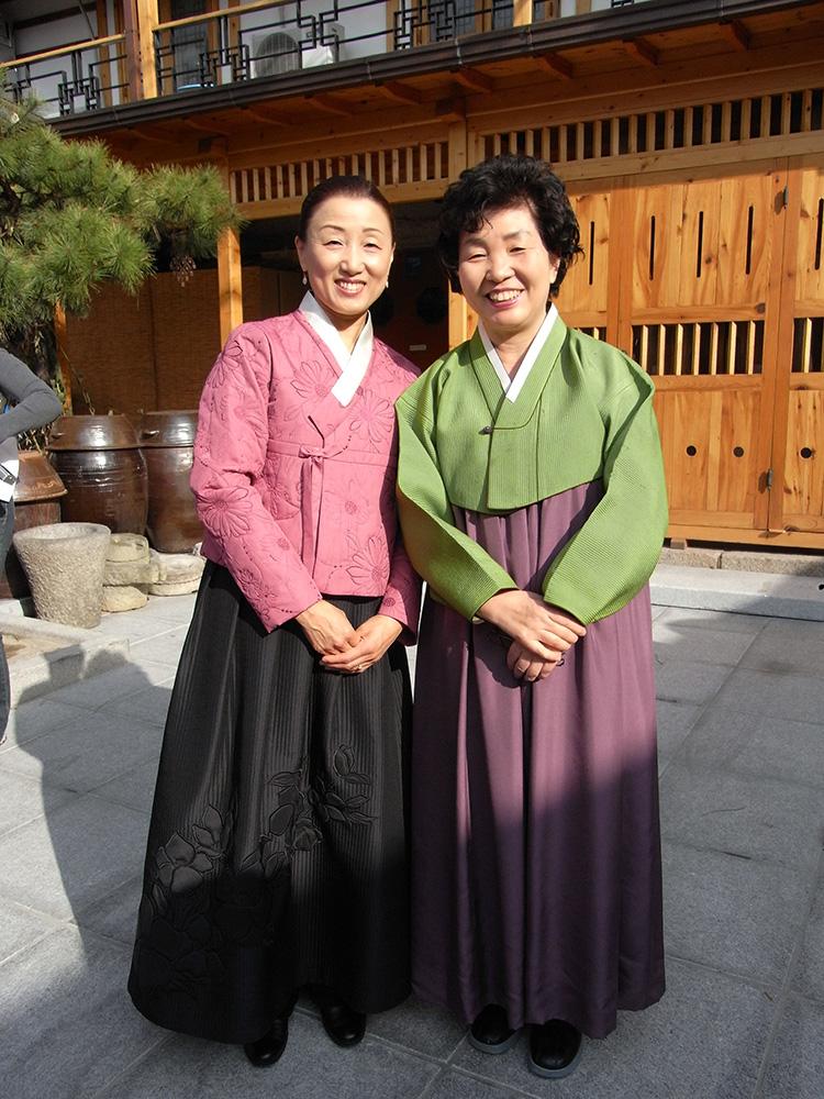 韓福麗院長とジョン・キョンファ先生