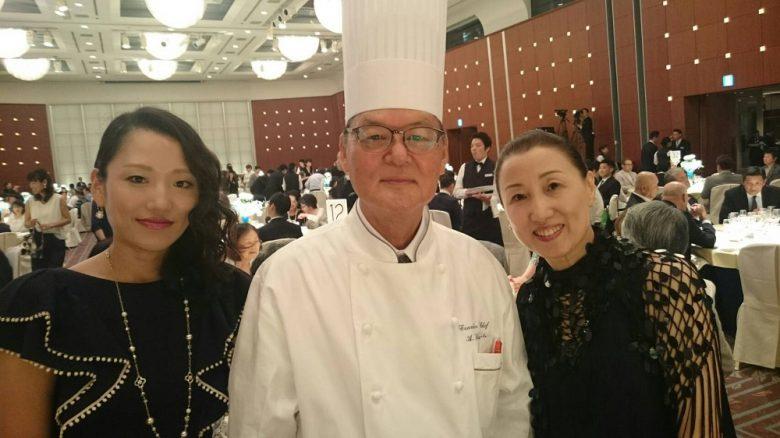 鎌田総料理長とチュリョンと私(^-^)。
