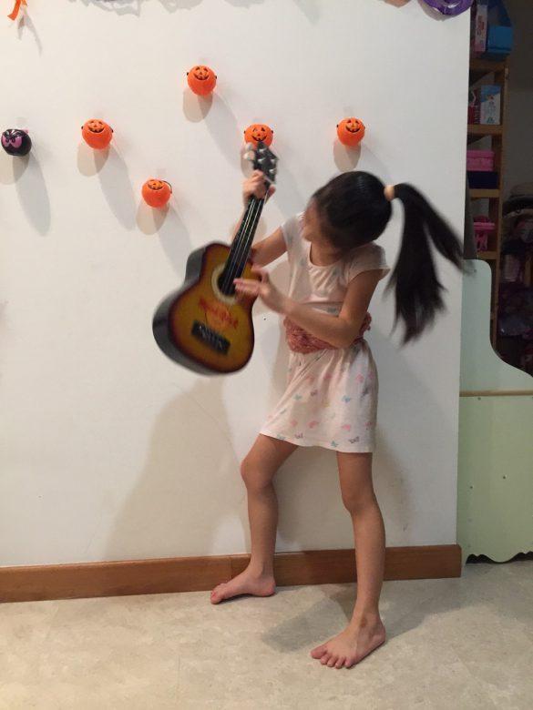 プロ並みのエアーギター