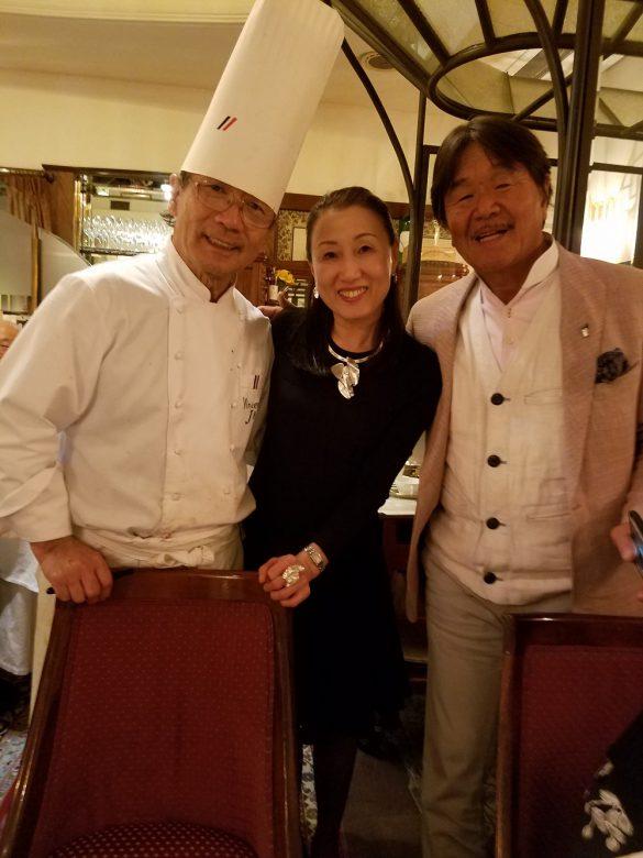 フレンチの巨匠、城さんと坂井さん。