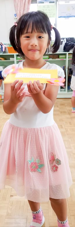 ピンクが大好きな女の子