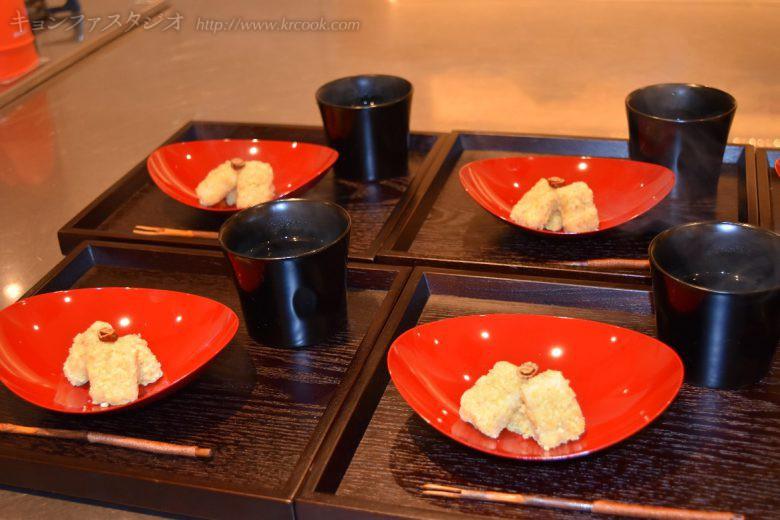 手作りのパムタンジャ、とても人気でした。