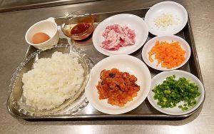 レシピ20181101_キㇺチチャーハン