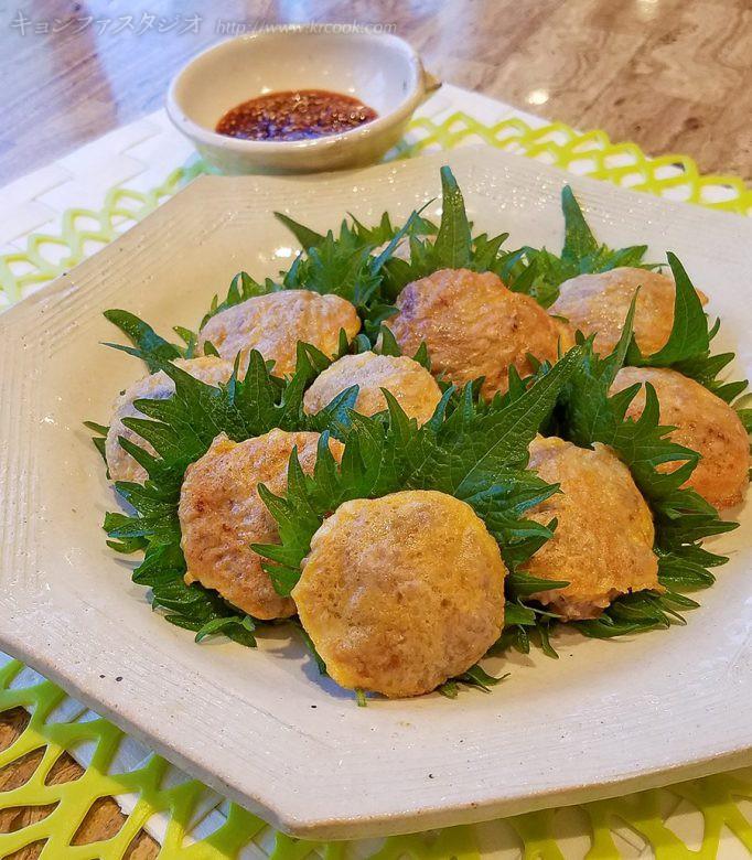 レシピ_20200301-豆腐とひき肉のお焼き