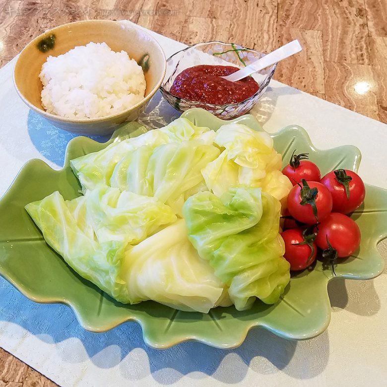 レシピ_20200315-春キャベツの包みご飯